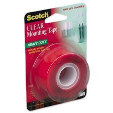 MMM 4010 3M Scotch Permanent Clear Mounting Tape MMM4010
