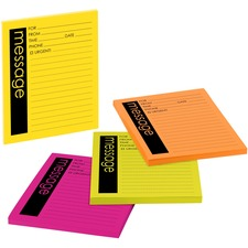 MMM 76794 3M Post-it Telephone Message Sticky Note Pads MMM76794