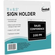 NUD 38008 NuDell Acrylic Sign Holders NUD38008