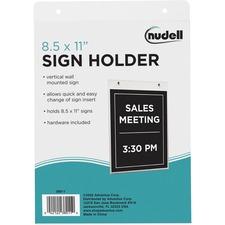 NUD 38011 NuDell Acrylic Sign Holders NUD38011