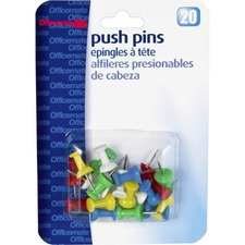 OIC 92600 Officemate Plastic Precision Push Pins OIC92600