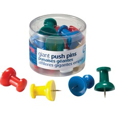 OIC 92902 Officemate Giant Push Pins OIC92902