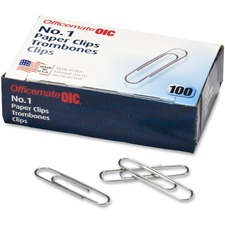 OIC 99911 Officemate Paper Clips OIC99911