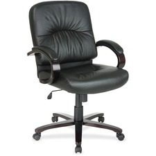 office star wd5331 mid back executive leather chair ospwd53313