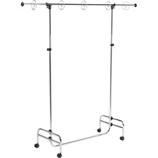 "Pacon Chart Stand - 78"" Height x 77"" Width - Metal - Silver"