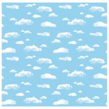 PAC 56465 Pacon Cloud Design Fadeless Paper Roll PAC56465
