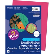 PAC 6003 Pacon SunWorks Groundwood Construction Paper PAC6003