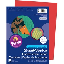 PAC 9903 Pacon SunWorks Groundwood Construction Paper PAC9903