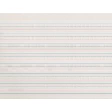PAC ZP2611 Pacon Zaner-Bloser Broken Midline Ruled Paper PACZP2611