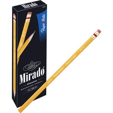 PAP 2097 Paper Mate Mirado Classic Pencils w/ Erasers PAP2097