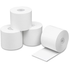 PMC 02677 PM Company 1-ply Recycled Calculator Paper Rolls PMC02677