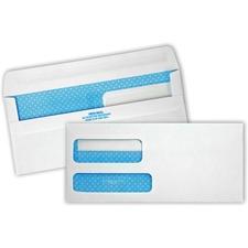 """Quality Park Redi-Seal 2 Window Envelopes - #9 (8.88\"""" x 3.88\"""") - 24lb - Self-sealing - Wove - 500 / Box - White"""