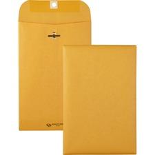 QUA 37855 Quality Park Gummed Kraft Clasp Envelopes QUA37855