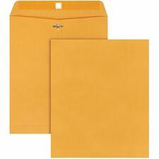 QUA 37895 Quality Park Gummed Kraft Clasp Envelopes QUA37895
