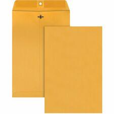 QUA 37898 Quality Park Gummed Kraft Clasp Envelopes QUA37898