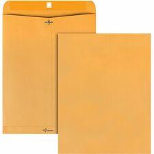 QUA 37910 Quality Park Gummed Kraft Clasp Envelopes QUA37910