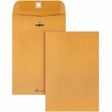 QUA 43055 Quality Park Park Ridge Kraft Clasp Envelopes QUA43055