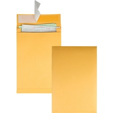 QUA 93336 Quality Park Kraft Redi-strip Expansion Envelopes QUA93336