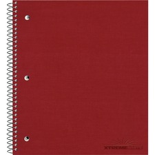 RED 31987 National Brand Single-Subject Wirebound Notebooks RED31987