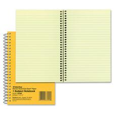 RED 33002 Rediform Brown Board 1-Subject Notebooks RED33002