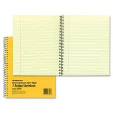 RED 33008 National Brand Single-Subject Wirebound Notebooks RED33008