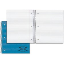 RED 33709 Rediform Kolor Kraft Cover 3HP 1-Subject Notebook RED33709