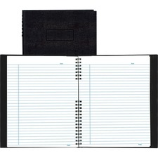 RED A10200BLK Rediform NotePro Twin-wire Composition Notebook REDA10200BLK
