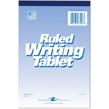 ROA 63046 Roaring Spring Ruled Writing Tablets ROA63046