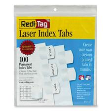 RTG 33117 Redi-Tag Laser and Inkjet Printable Index Tabs RTG33117