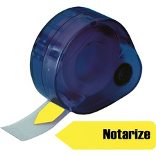 RTG 60435 Redi-Tag Removable Notarize Flags RTG60435