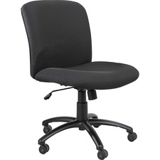 SAF 3491BL Safco Uber Big & Tall Series Mid-Back Chair SAF3491BL