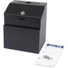 SAF 4232BL Safco Steel Suggestion Box SAF4232BL
