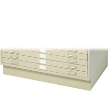 SAF 4995TSR Safco 5-Drawer Steel Flat File SAF4995TSR