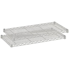 SAF 5287GR Safco 1250 lb. Shelf Capacity Wire Shelving  SAF5287GR
