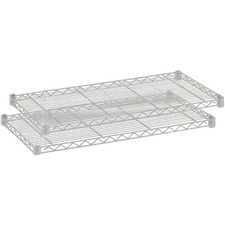 SAF 5293GR Safco 1000 lb. Shelf Capacity Wire Shelving  SAF5293GR