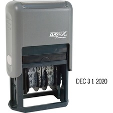 XST 40160 ClassiX by Xstamper Self-Inking Date Stamp XST40160