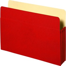 SPR 26552 Sparco Colored Expanding File Pockets SPR26552