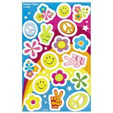 TEP T37023 Trend Rockin' Retro Foil Bright Stickers TEPT37023