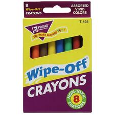 TEP T593 Trend Wipe-Off Crayons TEPT593