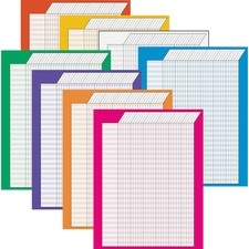 Trend Vertical Variety Incentive Charts - 8+