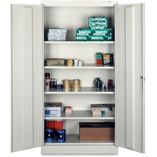 TNN 7218LGY Tennsco Full-Height Standard Storage Cabinets TNN7218LGY
