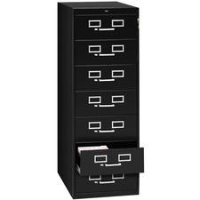 TNN CF758BK Tennsco Card Files/Media Storage Cabinets TNNCF758BK