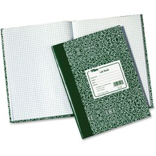 TOP 35128 Tops Quad Ruled Lab Research Notebook TOP35128