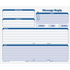 TOPS 3801 Message Pad