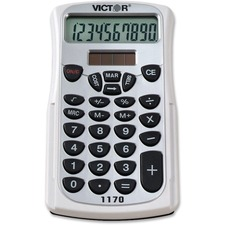 VCT 1170 Victor 1170 Handheld Calculator VCT1170