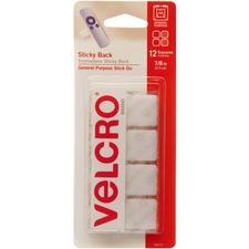 VEK 90073 VELCRO Brand Sticky Back Adhesive Squares VEK90073