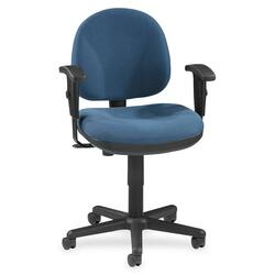 LORELL Millenia Pneumatic Adjustable Task Chair Blue