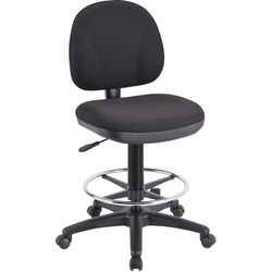 LORELL Pneumatic Adjustable Multi-task Stool Black