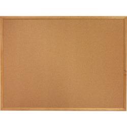Sparco Cork Boards Oak Frame 4' X 6'
