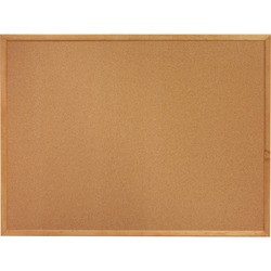 Sparco Cork Boards Oak Frame 1 1/2' X 2'